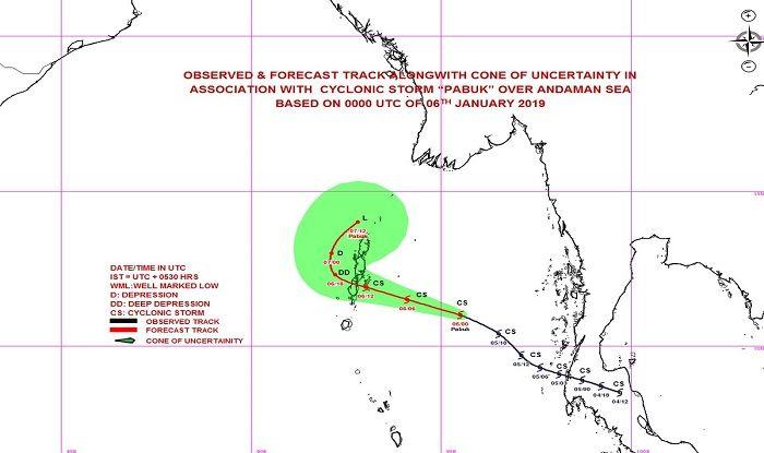 Cyclone Pabuk: Meteorological Department Issues Orange Alert For Andaman Islands