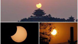 Surya Grahan 2019: नए साल का पहला सूर्य ग्रहण खत्म, देखें Updates & Pics
