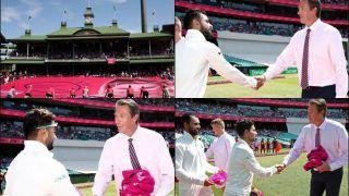 India vs Australia 4th Test Sydney: Virat Kohli And Co. Wins Glenn McGrath's Heart By Presenting Him Pink Caps | WATCH Video And Pics