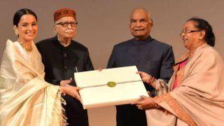 President Ram Nath Kovind Watches Kangana Ranaut's Manikarnika at Rashtrapati Bhavan's Special Screening, Felicitates The Cast of The Film