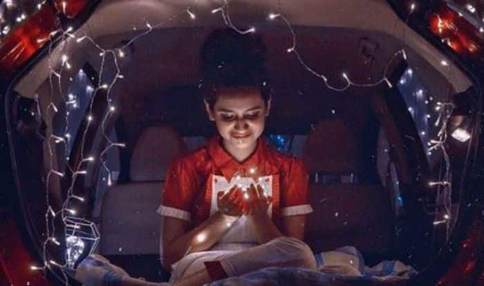 Internet Wink Queen, Priya Prakash Varrier Looks Super Hot as She Sits Inside Car With Bundle of Fairy Lights in Her Hand – See Picture