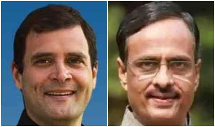 भाजपा नेता दिनेश शर्मा ने राहुल गांधी से कहा- कुंभ में जाएं और दादा की कब्र पर कैंडल जलाएं