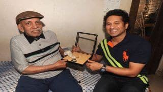 Sachin Tendulkar and Vinod Kambli's Cricket Coach Ramakant Achrekar Passes Away at Age of 87 in Mumbai