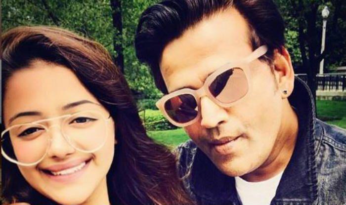 Ravi Kishan with daughter Riva Kishan