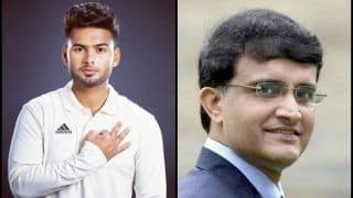 India vs Australia 4th Test Sydney: 'Rishabh Pant Is One For The Future', Reckons Former Captain Sourav Ganguly