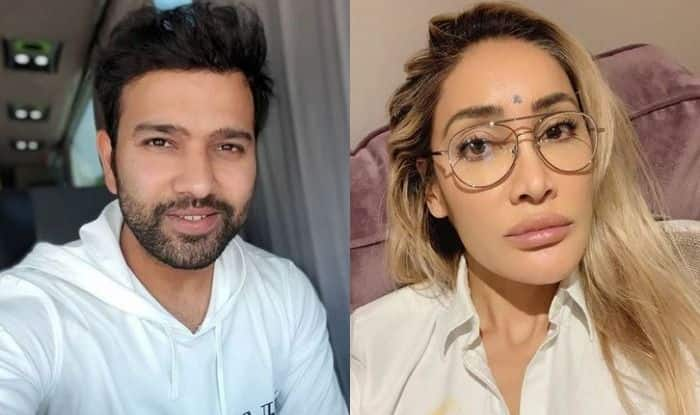 Rohit Sharma and Sofia Hayat