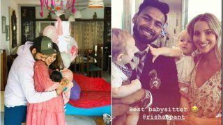 Rohit Sharma And His Wife Ritika Sajdeh Request Rishabh Pant to 'Babysit' Their Newborn Daughter Samaira | SEE POST
