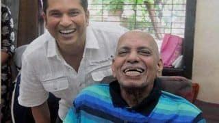 Sachin Tendulkar Reacts to Childhood Coach Ramakant Achrekar's Demise, Says Cricket in Heaven Will be Enriched With His Presence