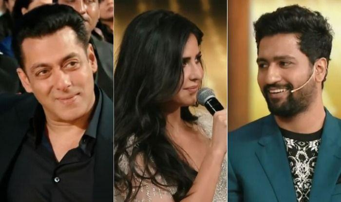 Salman Khan, Katrina Kaif, Vicky Kaushal