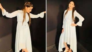 Haryanvi Sizzler Sapna Choudhary's Hotness in White Dress And Red Lips is What You Can't Miss - See Pictures