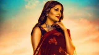 Haryanvi Bombshell Sapna Choudhary Looks Super Hot as She Shares Poster of Her 2019's First Song 'Ghunghat'