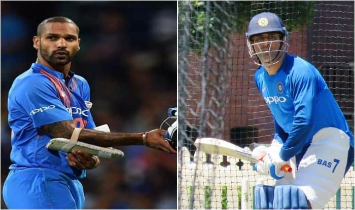 India vs Australia 2018-19: MS Dhoni, Shikhar Dhawan, Ambati Rayudu Grind Hard During Net Session Ahead of India's Three-Match ODI Series Against Australia in Sydney | SEE PICS