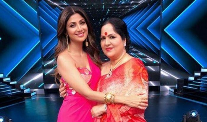 Shilpa Shetty and her mother Sunanda Shetty