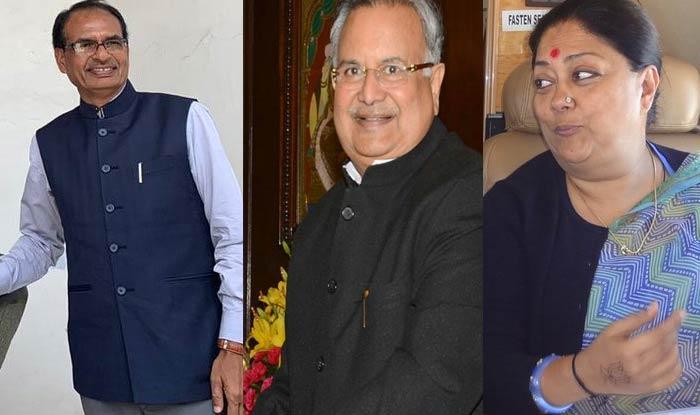 तीन राज्यों में सत्ता खोने वाले तीनों मुख्यमंत्रियों को भाजपा में मिला नया ठिकाना