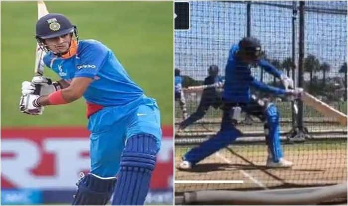 Shubman Gill Set For Debut in Napier, Plays Impressive Shots in Net Session Ahead of 1st ODI Against New Zealand | WATCH VIDEO