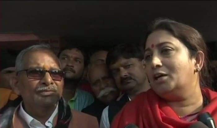 Smriti Irani Over Rahul Gandhi's Posters Projecting Him as Next PM: 'no One Has Stopped Him From Dreaming'
