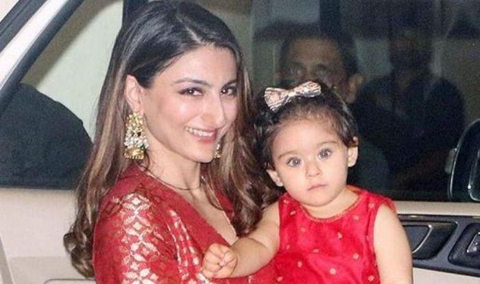 Soha Ali Khan with daughter Inaaya Naumi Kemmu