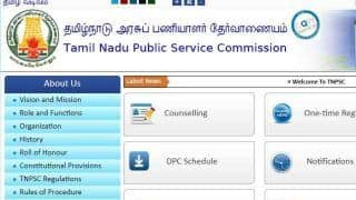 TNPSC Group 2 Services Exam 2019: Result And Marks Announced, Check on tnpsc.gov.in