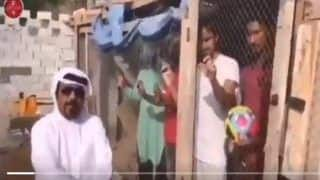 UAE Sheikh Locks Workers in Prison For Supporting Indian Football Team in AFC Asian Cup 2019 | WATCH VIDEO