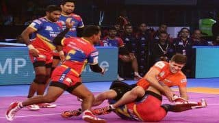 Pro Kabaddi League 6: UP Thrash Delhi 45-33