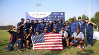 USA And Oman Create History, Attain ODI status With Respective Wins in The World Cricket League Division 2