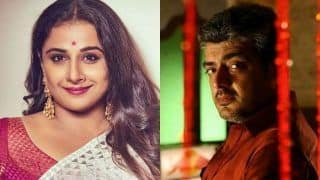 Vidya Balan Confirmed to Star in Tamil Version of Amitabh Bachchan Starrer Pink Opposite Ajith