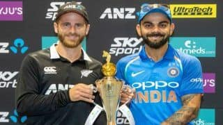 New Zealand vs India 2019 Free Online Live Cricket Streaming And Score, When And Where to Watch NZ vs IND First ODI Napier, Timing IST, Live Updates Online Dream XI, Fantasy XI Full Squad