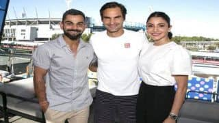 India vs Australia: Virat Kohli Meets Idol Roger Federer at Australian Open, Anushka Sharma Enjoys Beautiful Sunny Day With Husband | SEE PICS