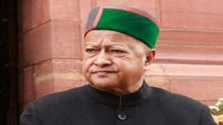 Former Himachal Pradesh CM Virbhadra Singh Down With Swine Flu, Admitted to Hospital