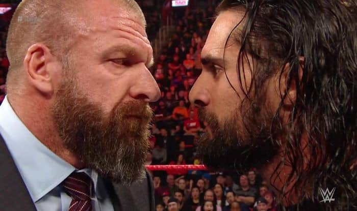 WWE RAW Rollins and triple h_picture credits-twitter