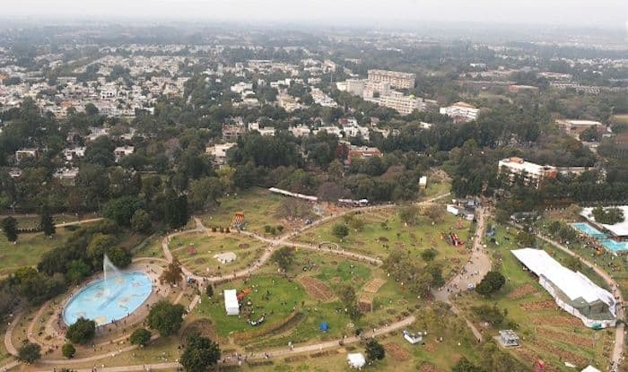 Rose Garden of Chandigarh – Asia's Largest – is in Full Bloom in February
