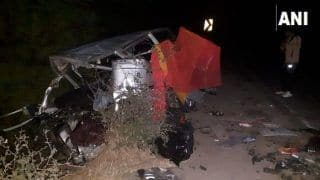 Madhya Pradesh: 12 Dead, Two Injured in Collision Between Two Cars Near Ramgarh Village in Ujjain District