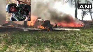 एयरफोर्स का फाइटर जगुआर विमान क्रैश, पायलट ने पैराशूट से लगाई छलांग