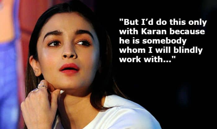 Alia Bhatt Knows Nothing About Takht's Story, Reveals Karan Johar is The Reason She Agreed to do The Film