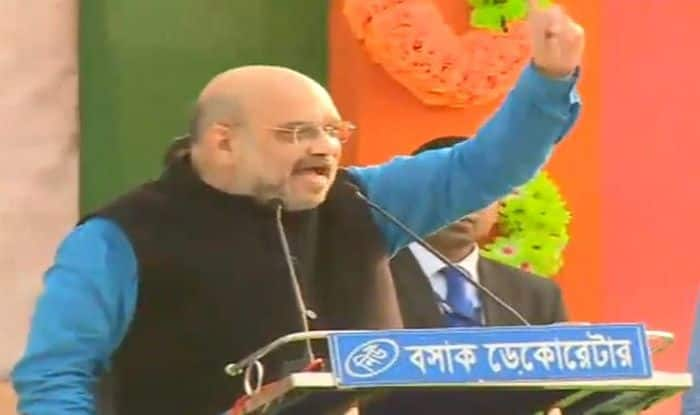 Amit Shah Launches All-Out Offensive Attack on Mamata Banerjee, Accuses TMC of Killing People in Name of Politics