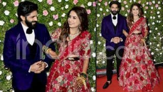 Amit Thackeray-Mitali Borude Wedding Reception: Raj Thackeray And Family Pose For The Cameras-See Pics