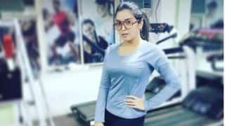 Bhojpuri Hotness Amrapali Dubey Flaunts Her Hot Toned Body While Exercising in Gym, See Pic