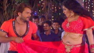 Bhojpuri Hot Bomb Amrapali Dubey And Superstar Khesari Lal Yadav's Song 'Marad Abhi Bacha Ba' Featuring Their Sizzling Chemistry Clocks Over 100 M Views