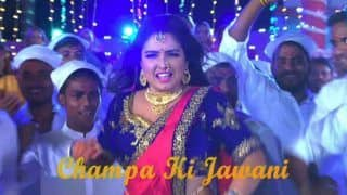 Bhojpuri Hot Actress Amrapali Dubey's Sexy Belly Dance in Chicken Biryani Champa Ki Jawani is Trending on YouTube, Garners 2.8 Million Views – Watch