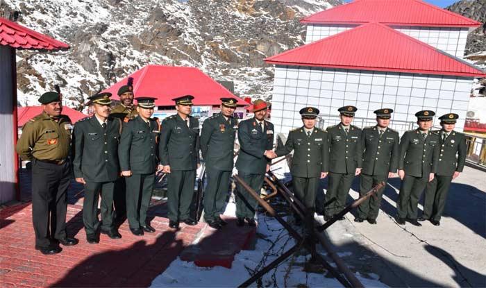 भारत-चीन की सेनाओं ने एक-दूसरे को दी बधाई, एक साथ मनाया नए साल