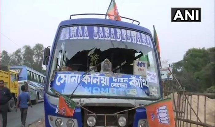 पश्चिम बंगाल: बीजेपी चुनाव आयोग से करेगी कांथी हिंसा की शिकायत, 11 गिरफ्तार