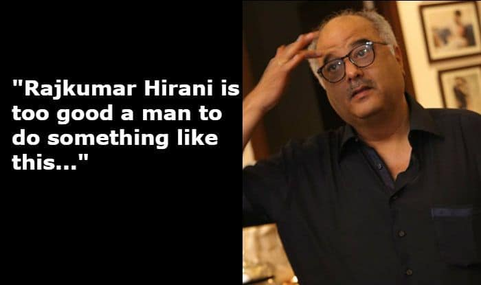 Rajkumar Hirani Sexual Harassment Case: Boney Kapoor Supports Filmmaker, Says 'he Can Never do Something Like This'