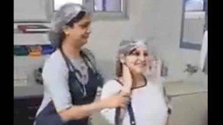 ऑपरेशन से पहले डॉक्टर के साथ डांस कर रही है प्रेग्नेंट महिला, वायरल हुआ वीडियो