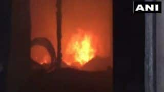 Mumbai: Fire Breaks Out at Plastic Factory in Kandivali; Five Fire Tenders at Spot