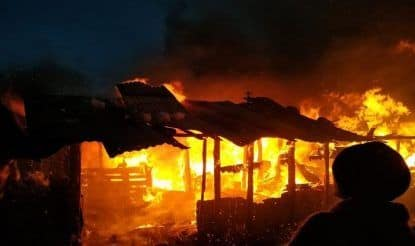 Himachal Pradesh: Shed of Labourers Gutted in Fire; no Casualties Reported