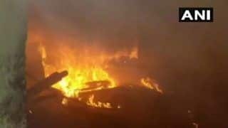 Delhi: Fire Breaks Out at Shoe Factory in Narela Industrial Area