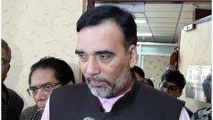आप नेता गोपाल राय ने उपराज्यपाल बैजल के आवास के बाहर डाला डेरा, कानून-व्यवस्था पर पहुंचे चर्चा करने
