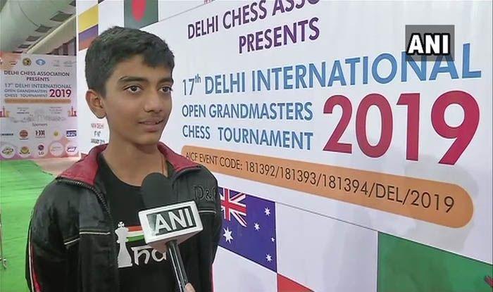सातवीं कक्षा के छात्र गुकेश बने भारत के सबसे कम उम्र के ग्रैंड मास्टर