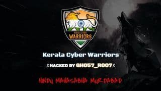 Akhil Bharatiya Hindu Mahasabha Official Website Hacked; Kerala Cyber Warriors Asks Group's Leader to 'Lose Weight Before Losing Brain'