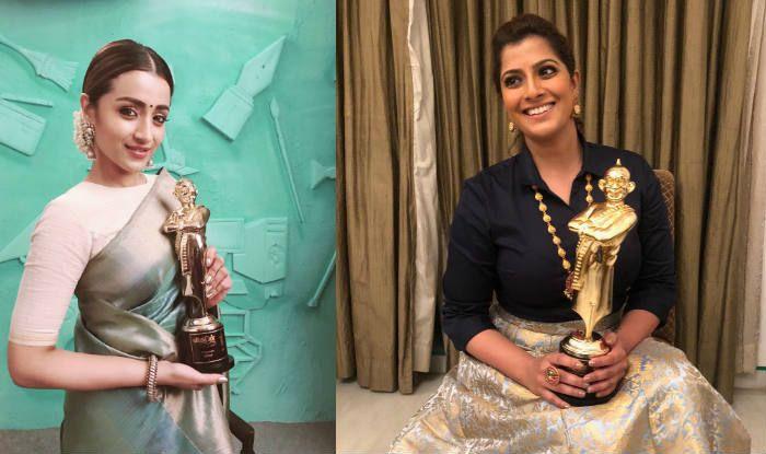 Vikatan Awards 2019: Dhanush Wins Best Actor, Trisha Krishnan Wins Best Actress